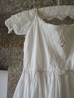 antique christening gown ...