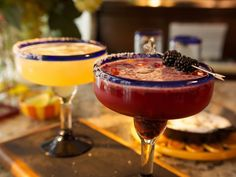"""Heart of Darkness"" Margarita recipe from Damaris Phillips via Food Network"