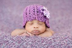 Shells 'n Posts Hat by Bella-Rae Crochet
