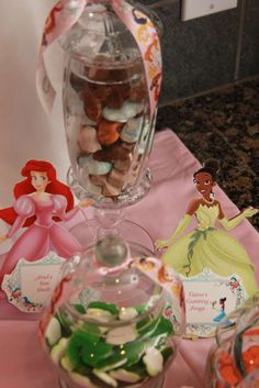 Disney Princess Party Birthday Party Ideas | Photo 23 of 30 | Catch My Party