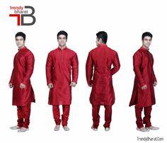 #Red #Ethnicwear #Stylish #KurtaPayjama #Betrendy