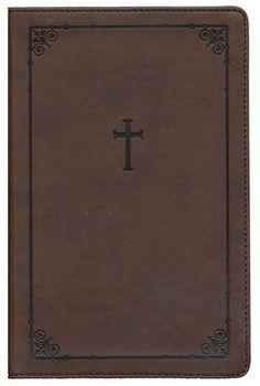 NIV Teen Study Bible Compact, Italian Duo-Tone, Chocolate