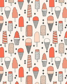 Ice Cream Season Art Print