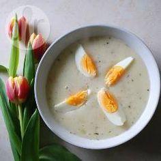 Bortsch blanc de Pâques (Zurek) @ allrecipes.fr