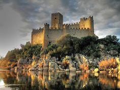 Almourol's Castle, Portugal  photo via thenoc