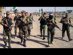 Fuerzas iraquíes en el triángulo fronterizo jordano-sirio-iraquí