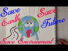 Poster On Save Earth Drawing 2018 Save Environment Posters, Environment Quotes, Save Planet Earth, Earth Day, Energy Projects, Art Projects, Energy Conservation Poster, Save Earth Drawing, Save Earth Posters