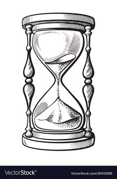 Hourglass black and white hand drawn sketch vector illustration. Hourglass black and white hand drawn sketch vector illustration isolated on white background. Clock Drawings, Tattoo Design Drawings, Tattoo Sketches, Art Sketches, Tattoo Designs, Compass Tattoo Drawing, Tattoo Ideas, Hourglass Drawing, Sand Hourglass