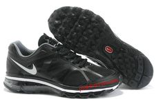 Black Pure Platinum Black Nike Air Max 2012 Men's Running Shoes
