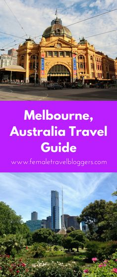 Melbourne Australia has so much to offer. This Melbourne guide tells you what foods to eat in Melbourne, where to stay in Melbourne, transportation tips for Melbourne, and things to see and do in Melbourne. You'll be all set for your trip after reading this post! Don't forget to save it to your travel board.