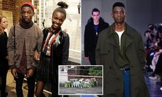 Police charge two men with murder after model stabbed to death