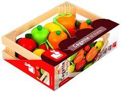 Janod - J05610 - Accessoires de cuisine - Cagette 12 Fruits Janod http://www.amazon.fr/dp/B001IYODLE/ref=cm_sw_r_pi_dp_flwvub1M4NFBH