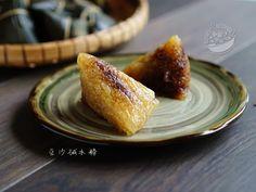 A taste of memories -- Echo's Kitchen: 【豆沙碱水粽】Kee Zhang/Alkaline Dumplings with Adzuki Be...
