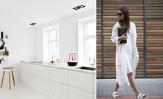 Moda + Décor - Minimalismo. Veja: http://www.casadevalentina.com.br/blog/detalhes/moda-+-decor--minimalismo-2957 decor #decoracao #interior #design #casa #home #house #idea #ideia #detalhes #details #style #estilo #casadevalentina #color #cor #moda #fashion #minimalista #minimalist #kitchen #cozinha