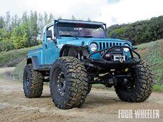 Pitbull Rocker Tires On Jeep Tj Brute
