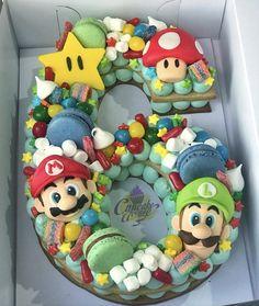Baby boy birthday cake super mario new ideas Mario Birthday Cake, 6th Birthday Cakes, Super Mario Birthday, 6th Birthday Parties, Birthday Cake Kids Boys, Birthday Ideas, Boy Birthday Cupcakes, Dog Birthday, Bolo Do Mario