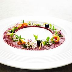 Beef carpaccio, from Executive chef Wuttiamporn, Phuket, Thailand
