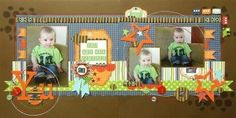 Gallery Projects - Scrapbooking - 2 Page Layout - Two Peas in a Bucket by leanne