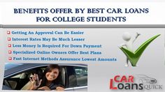 student auto loan