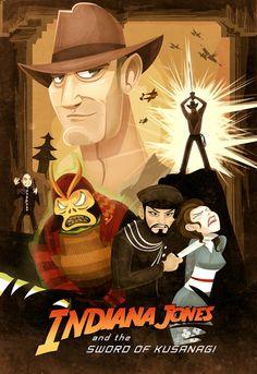 Indiana Jones and the Sword of Kusanagi