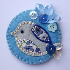 Designed by Kate Johnson  (Note to SASK: ?try this with needle felting)