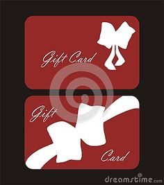 Illustration about Decorated gift cards with bow and red background. Illustration of different, christmas, anniversary - 48385234 Red Background, Gift Cards, Drink Sleeves, Card Stock, Bows, Illustration, Christmas, Gifts, Decor