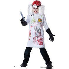 Kids Mad Scientist Zombie Costume – Zombie Halloween Costumes 2015 Ideas