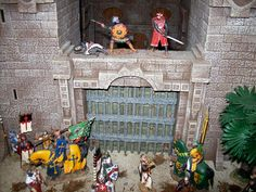 King and Country Crusader-Saracen Toy Soldiers Home Displays and ...