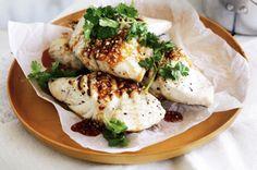 BBQ Fish & Coconut Rice