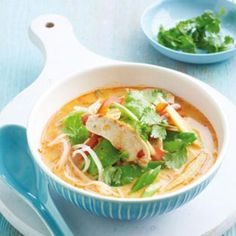 Chicken laksa | Australian Healthy Food Guide