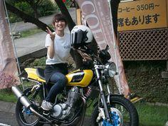 【画像あり】この女の子のバイク購入を支援すると、一緒にツーリングできるぞ!