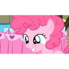 filly Pinkie Pie!!! SO CUTE!!!! This must be after she becomes a party pony!
