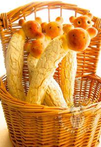 Bread shape like Giraffe