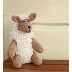 Sheep+Toy+-+Knitting+Pattern