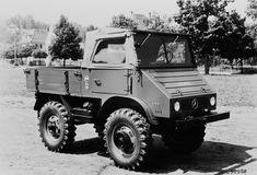 Werksbild Unimog U30 Typ 411.110 kurzer Radstand 1720mm, offenes ...