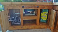 """Big Green Egg Table -- """"The Sidebar"""" - traditional - grills . Big Green Egg Outdoor Kitchen, Big Green Egg Table, Big Green Egg Grill, Outdoor Kitchen Grill, Outdoor Grill Station, Green Eggs, Outdoor Kitchens, Outdoor Grilling, Backyard Kitchen"""