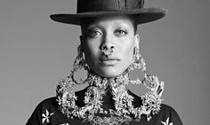 Erykah Badu styles the 2016 Pyer Moss show at New York Fashion ...