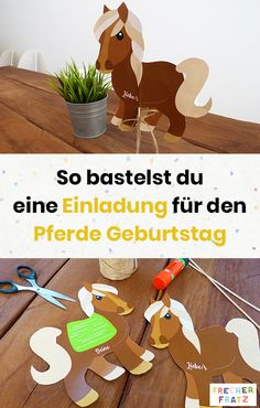 Pferde Einladung For the horse birthday of your birthday child, a great horse invitation should not Horse Birthday, It's Your Birthday, Birthday Gifts, Party Invitations Kids, Printable Wedding Invitations, Invitation Birthday, Tiffany & Co., Colourful Balloons, Thanksgiving Gifts