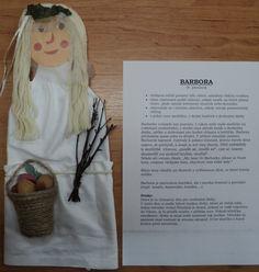 Postavy adventu a Vánoc -Barbora