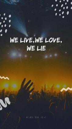 Yay life to the fittest Alan Walker, Walker Art, Avicii, Best Song Lyrics, Best Songs, Walker Join, The Spectre, Swedish House Mafia, Evil Anime