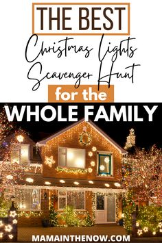 This downloadable Christmas lights scavenger hunt printable is yours for the taking. Start a new family tradition everyone will enjoy and can participate in! Christmas traditions for the whole family! Head out to see Christmas lights and use this scavenger hunt - completely free printable. Your entire family will enjoy the neighborhood Christmas lights in a whole new way! #ChristmasLights #ChristmasTraditions #ScavengerHunt #ChristmasScavengerHunt #ChristmasLightsScavengerHunt #hygge Happy Christmas HAPPY CHRISTMAS | IN.PINTEREST.COM #WALLPAPER #EDUCRATSWEB