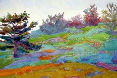 """Robin Purcell (Born 1956), """"Point Lobos"""""""