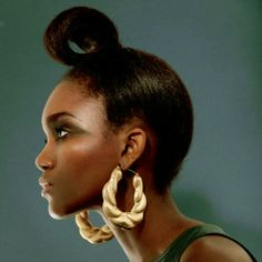 tomboybklyn:  bamboo earrings