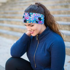 Yoga headbands, running headbands, non-slip headbands, printed headbands, crossfit headbands, All of our headbands are made with lycra/spandex, sweat absorbent