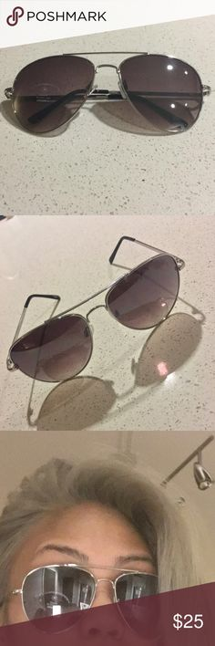 Silver Aviators Chrome frame and dark lens.  ⚠️ I only quote bundles. ⚠️ Use the 'Offer' tool for single items. ⚠️ No Trades. ⚠️ No holds. ⚠️ No soliciting. Accessories Sunglasses