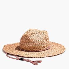 ea0b7806e599d Madewell x Biltmore® Braided Fedora Hat   latest  amp  greatest