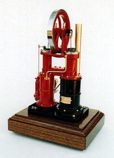 Improved Ryder Stirling engine.  a alpha type engine the orginal was widly used for pumping water.