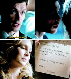 Tvd 4x23 and 8x16 Finale - He's your first love. I intend to be your last.