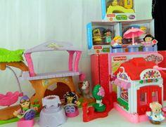 Fisher Price Little People Cinderella, Klip Klop, Treehouse, Valentine Bob Baker #FisherPrice