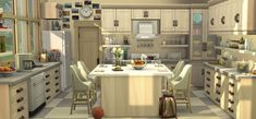 welcome at my page ♥ clumsy girl ♥somewhere from europe ♥ gamer girl ♥ loves it to take pics ♥ no cc room decorator Sims 4 House Plans, Sims 4 House Building, Sims 4 Family, Sims 4 Kitchen, House Flippers, Sims 4 House Design, Casas The Sims 4, Sims Four, Living Room Background